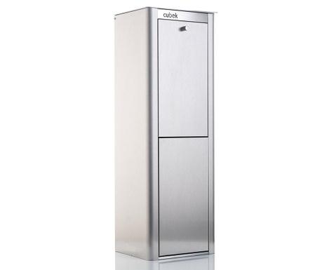 Шкафче за разделно изхвърляне Cubek Silver 40 L