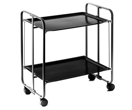 Sklopiva kolica za posluživanje Star Mini Black