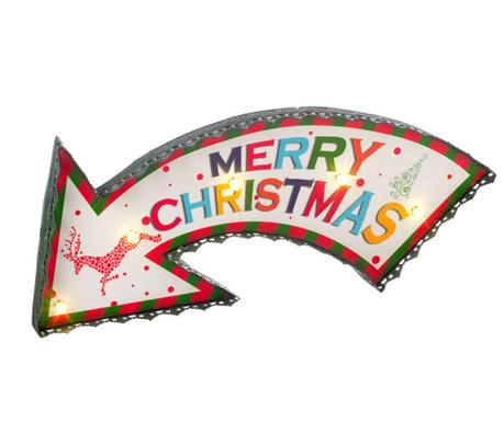 Decoratiune luminoasa Merry Christmas Arow