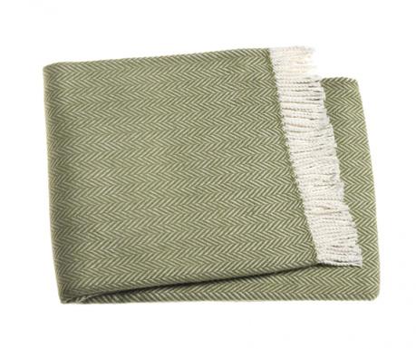 Priročna odeja Skyline Olive 140x180 cm
