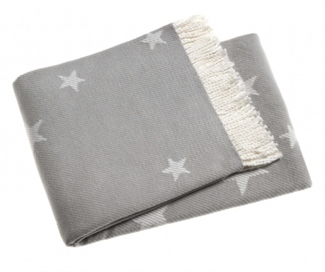 Koc Stars Light Grey 140x180 cm
