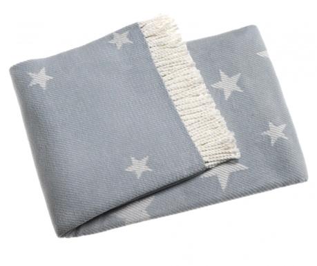 Pled Stars Sky Blue 140x180 cm
