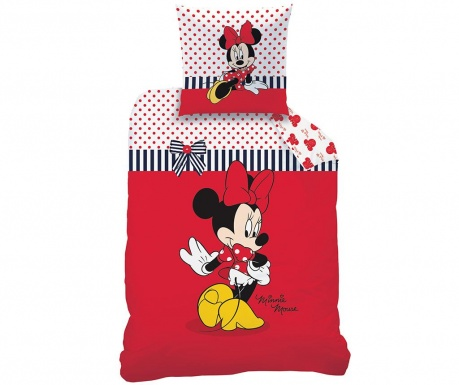 Set de pat Single Ranforce Disney Minnie Sweetie