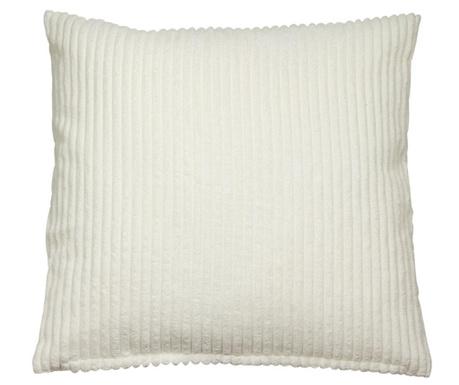Декоративна възглавница Corduroy White 45x45 см