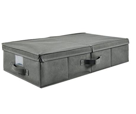 Shranjevalna škatla s pokrovom London Grey