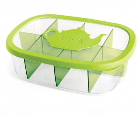 Order Green Teatartó doboz fedővel