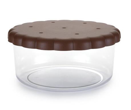 Posuda za kekse s poklopcem Round Sweet