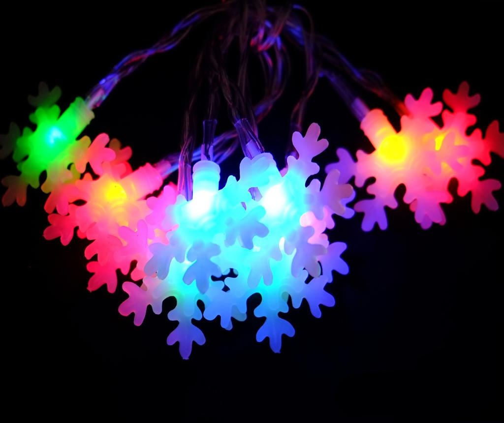 Ghirlanda luminoasa Flash Star Ten Colors