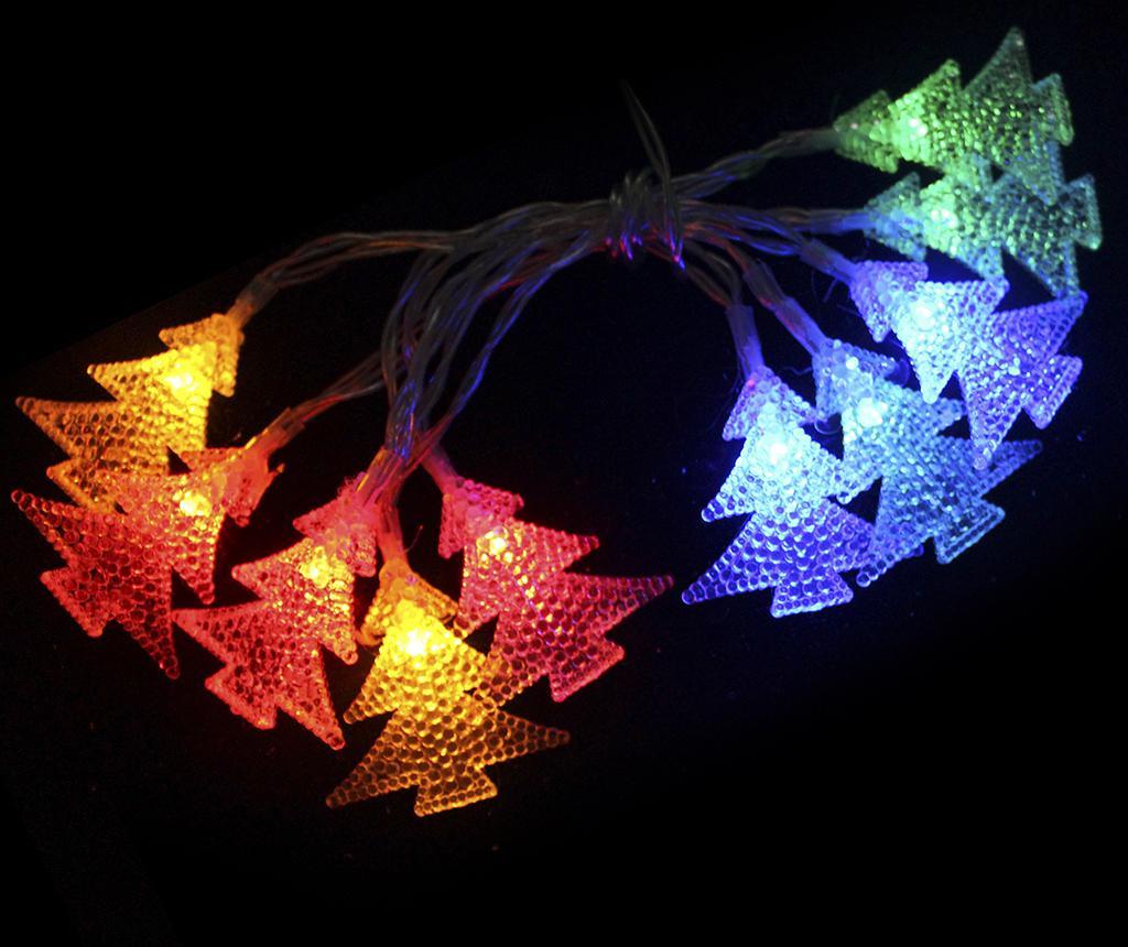 Ghirlanda luminoasa Pine Ten Colors