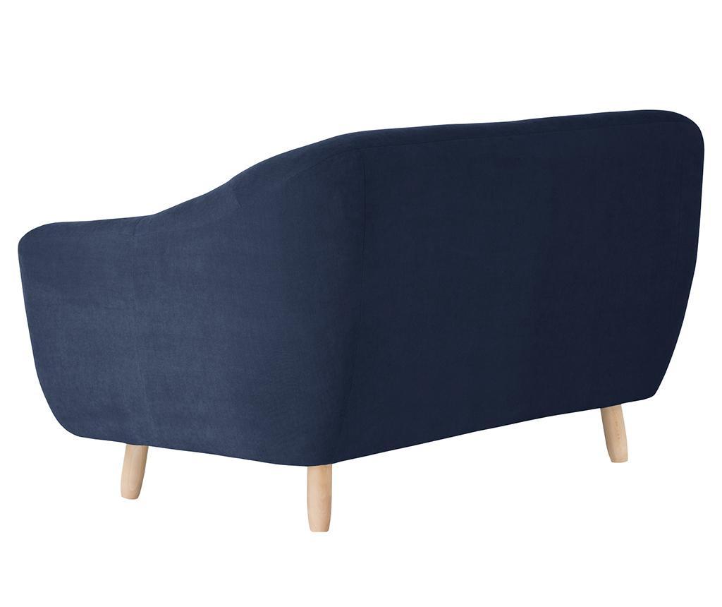 Canapea 2 locuri Vicky Navy
