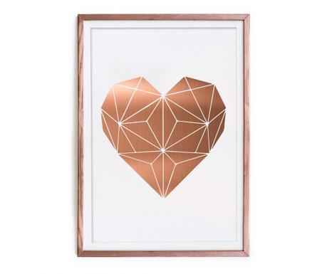 Slika Heart 43x63 cm