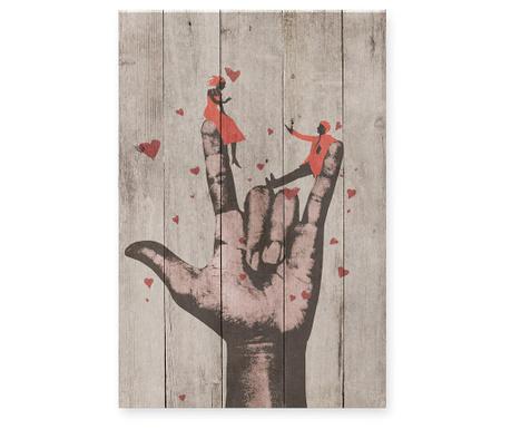 Slika Love Rocks 40x60 cm