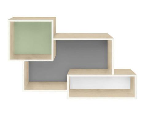 Element s policama Rhonda Green Grey White