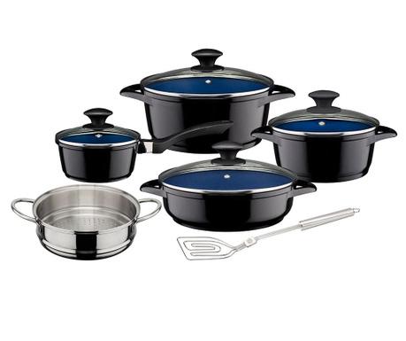 Комплект съдове за готвене 10 части Blacky
