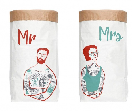 Set 2 vreće Mr and Mrs