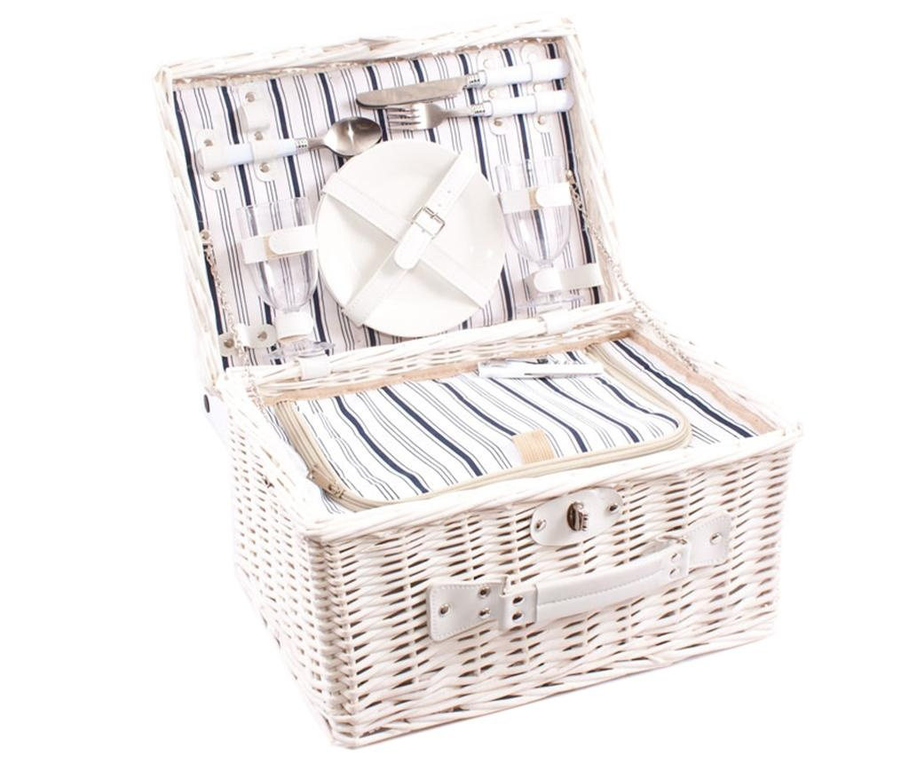 Opremljena košara za piknik za 2 osebi Pattern