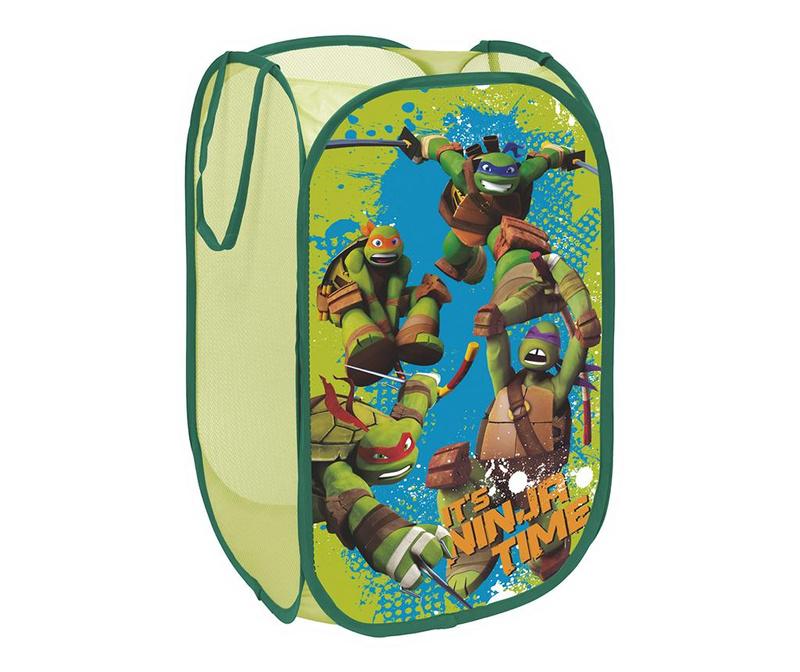Zložljiva shranjevalna košara za igrače Ninja Turtles