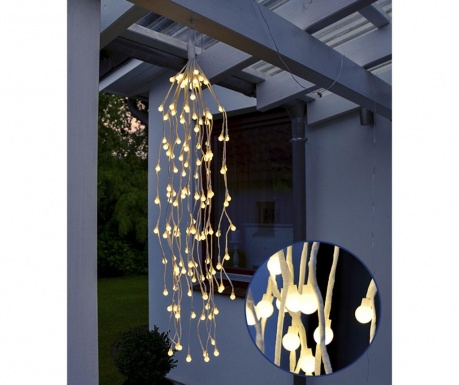Svjetleći ukras za vanjski prostor Branch White