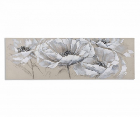 Obraz Three Flowers 50x150 cm