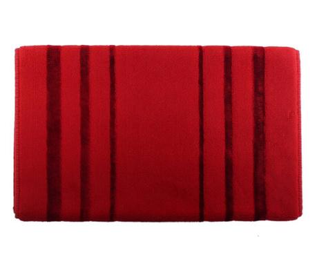 Prosop de picioare Charleston Red 60x100 cm