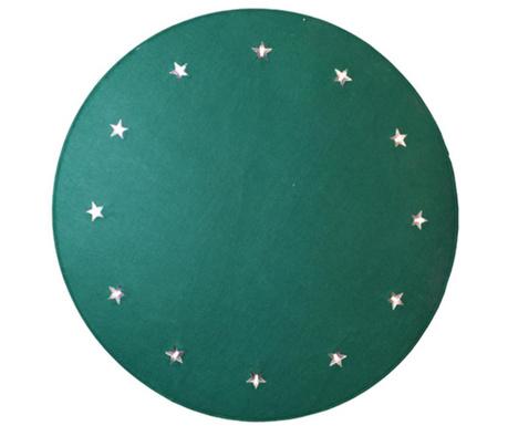 Φωτεινό χαλάκι Christmas Stars Green