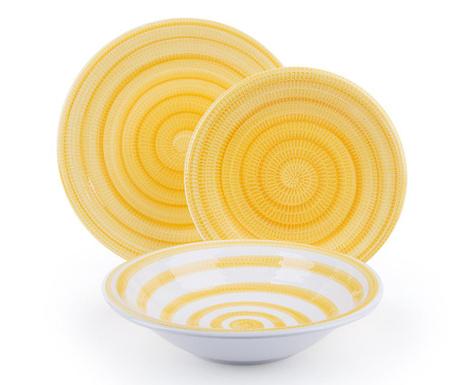 18-dijelni servis za jelo Old Italy Yellow