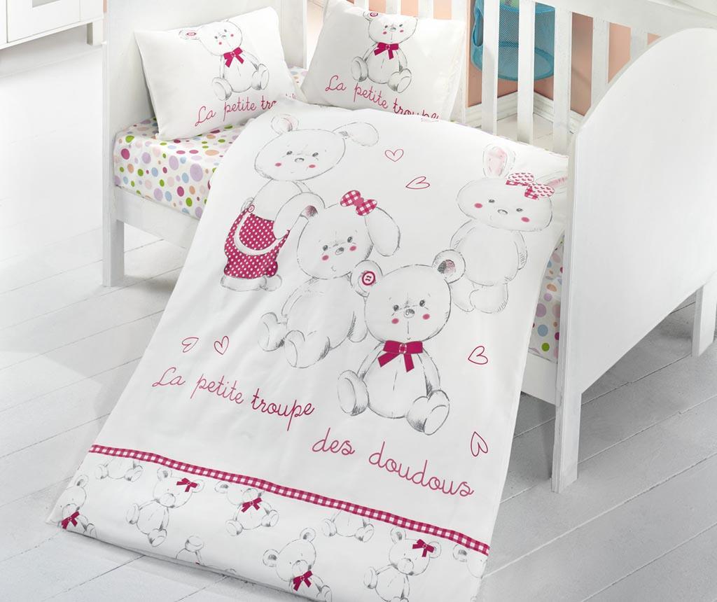 Posteljina za krevetić Ranforce Family 100x150