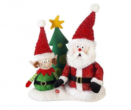 Decoratiune Santa & Elf