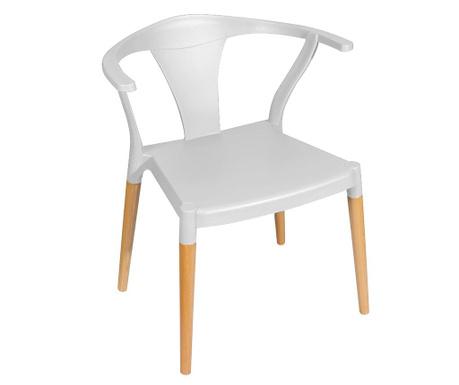 Židle Shanghai White Natural