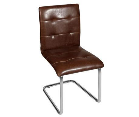 Sada 2 židlí Canberra Dark Brown
