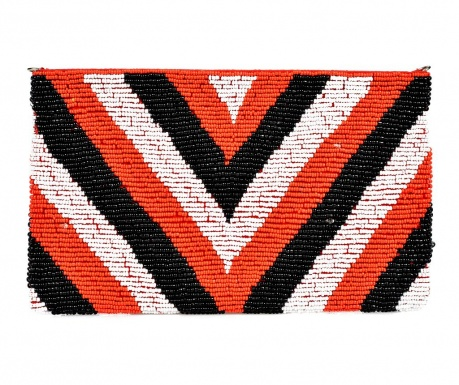 Envelope bag Multicolor and Red
