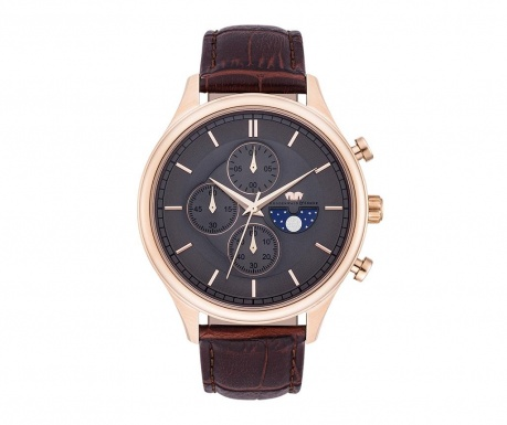 Мъжки ръчен часовник Rhodenwald & Söhne Niles Chrome