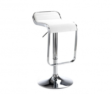 Scaun de bar Snappy White