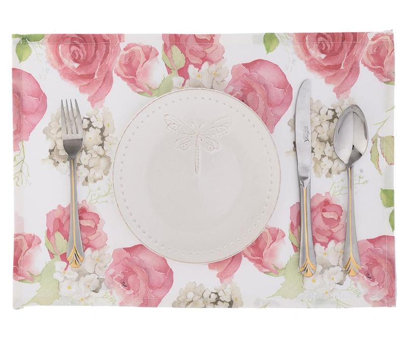 Set 2 podmetača Flowery Pink 33x45 cm
