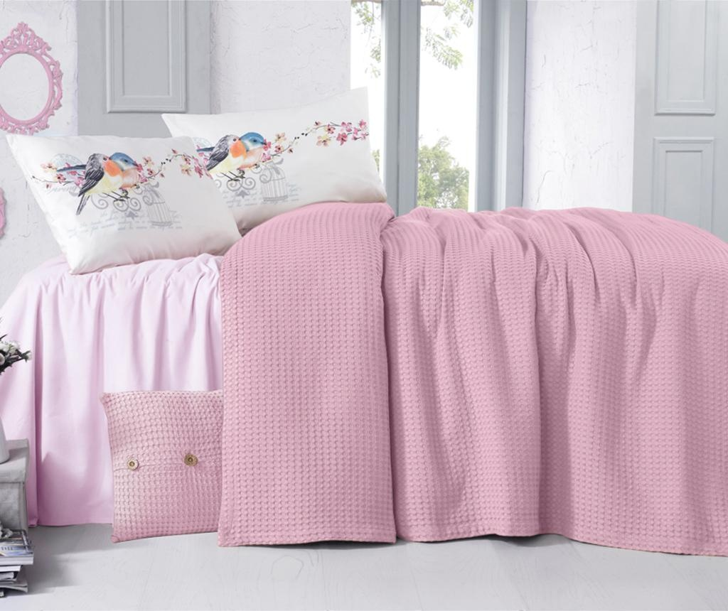 Cuvertura Rami Pink Powder 230x240 cm