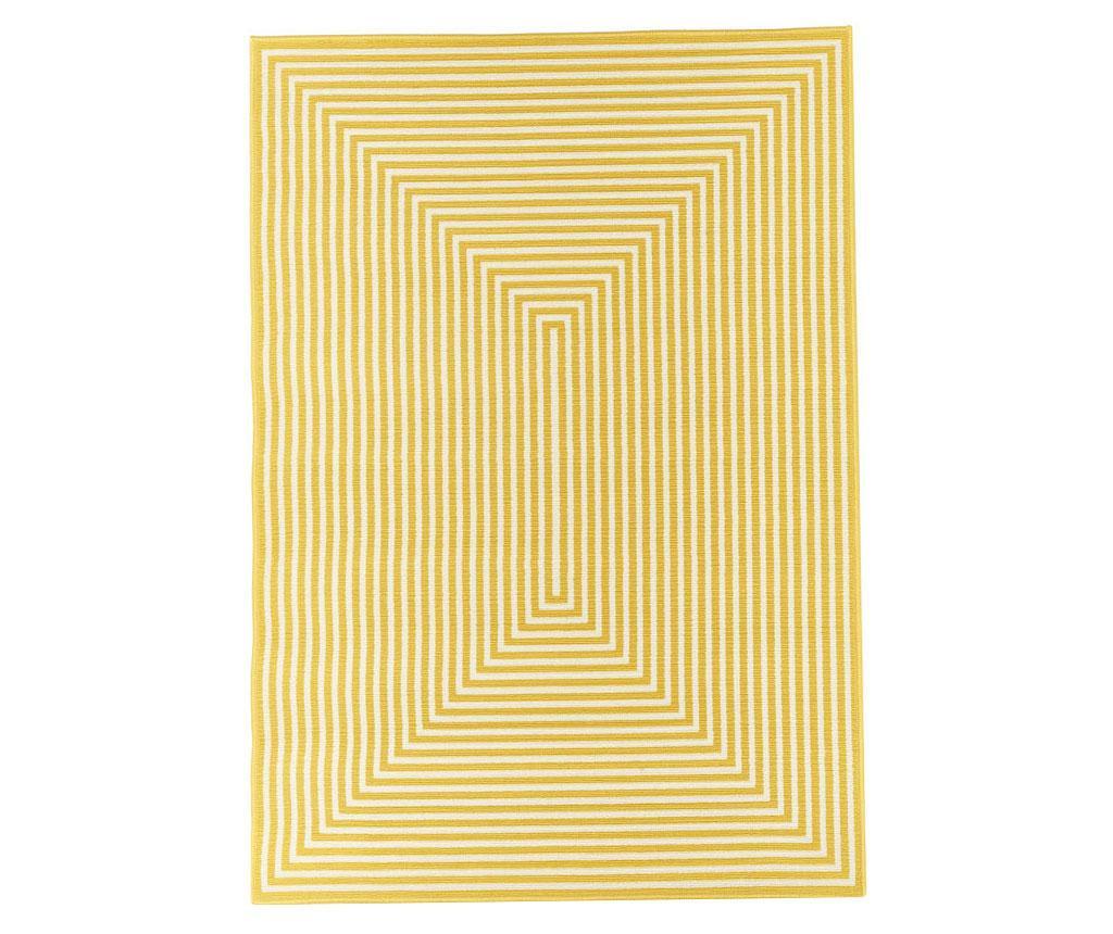 Braid Yellow Szőnyeg 200x285 cm