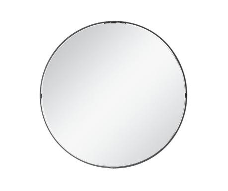 Zrkadlo Amari Black Round