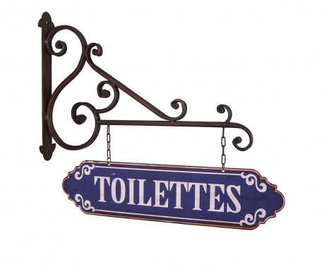 Decoratiune de perete Toilet