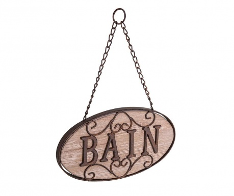 Dekorace na dveře Bain