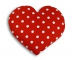 Grelna blazina Heart Polka 22x22 cm