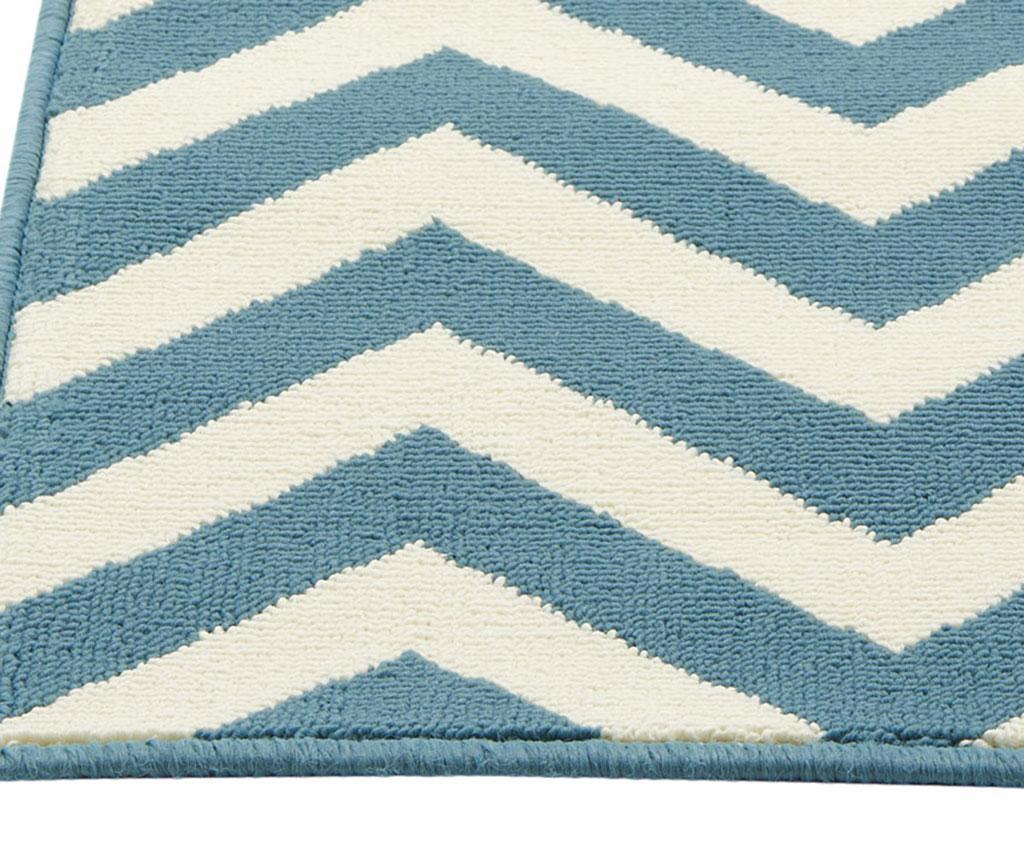 Koberec Waves Light Blue 133x190 cm