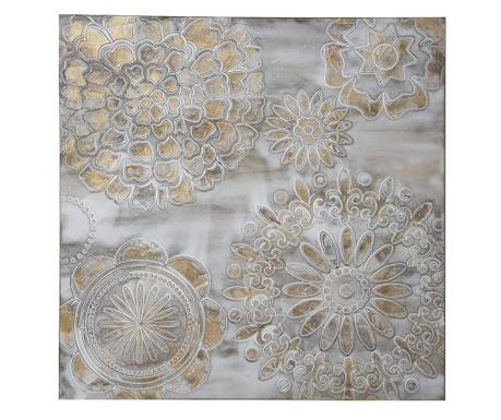 Crowns Festmény 80x80 cm