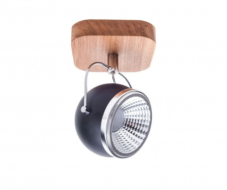 Lampa Ball Black Natural