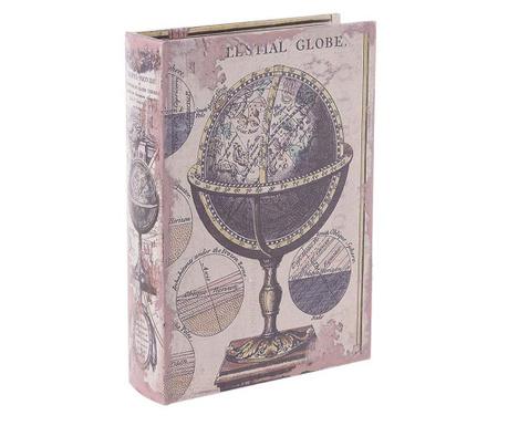 Кутия тип книга Globe