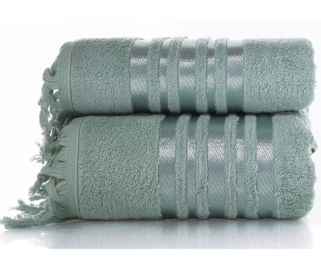 Zestaw 2 ręczniki kąpielowe Eleanor Blue