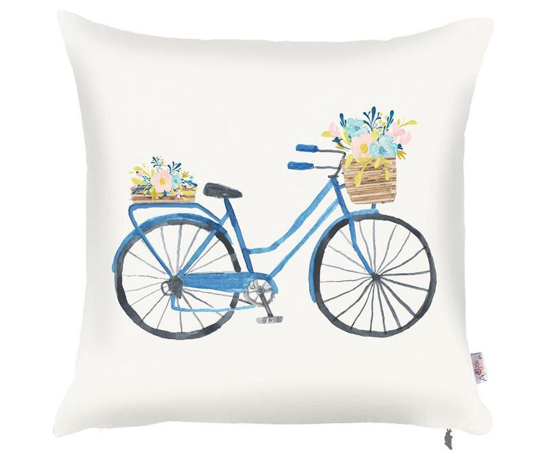 Fata de perna Bike with Flowers 43x43 cm