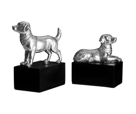 Sada 2 knižných zarážok Dogs