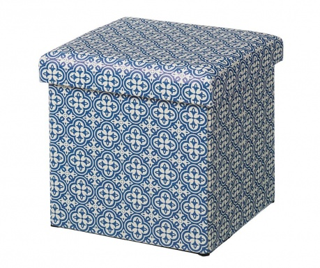 Zložljiv taburet Caprice Blue