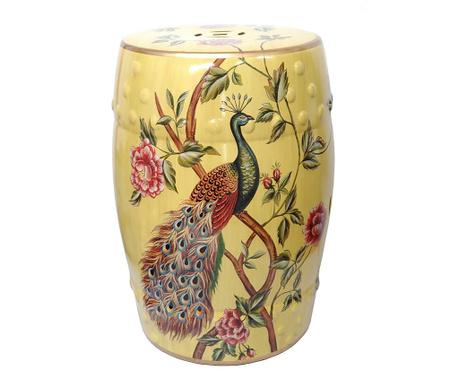 Dekorační taburet Peafowl