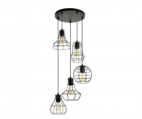 Lampa sufitowa Outline Quintuple Black
